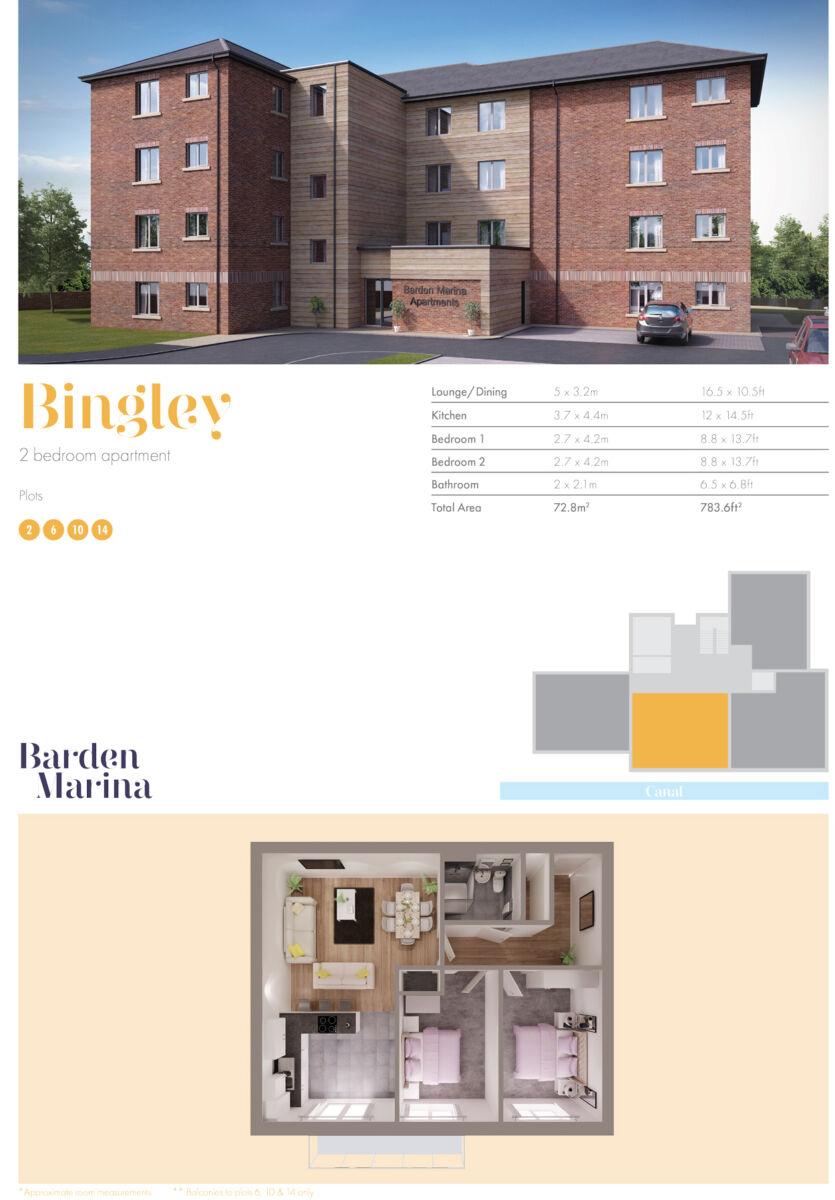 Barden Marina Burnley - Bingley