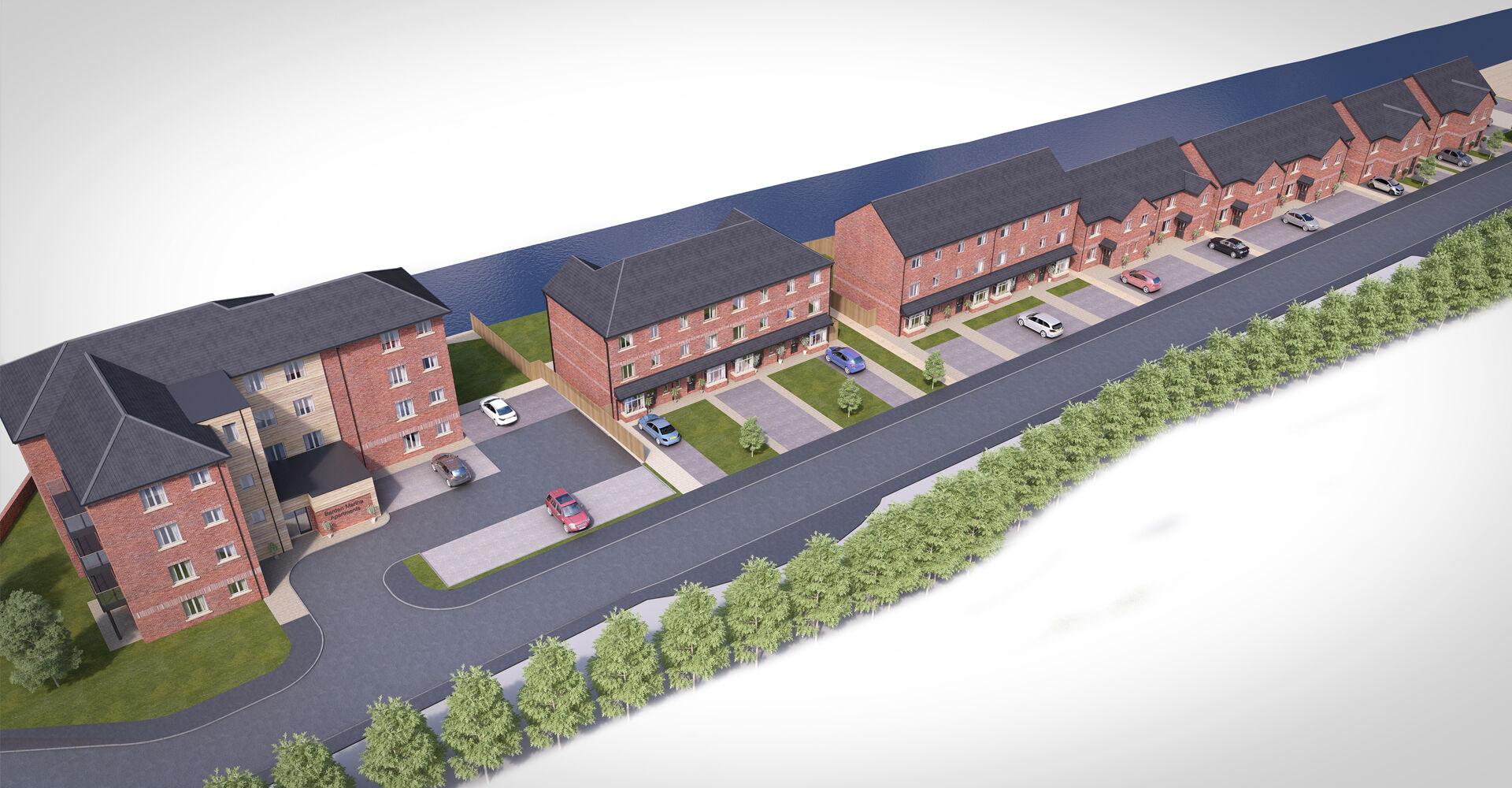 Barden Marina Burnley Siteplan